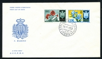 Lot 24757 [3 of 5]:1953 Flowers set on five illustrated FDCs, unaddressed.