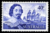 Lot 608:1966-74 Navigators BW #460 40c Tasman, type 1.