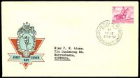 Lot 511:APO 1960 Northern Territory 5d tied to Hermes FDC by Melbourne cds 21SEP60.