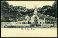 Lot 42:Aden: black & white PPC 'Aden Arabian Mosque'.