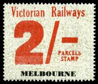 Lot 2383:1958-66 Eleventh Series 2/- red on white issued for Melbourne.