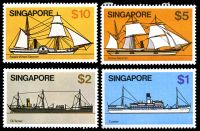 Lot 4614 [1 of 4]:1980 Ships SG #364-76 set. (13)