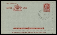 Lot 994:1953-54 3½d Red QEII Admonition in Red Panel BW #LC76y Die I cancelled Melbourne 1JY53 being first Day of Issue in Melbourne.