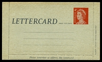 Lot 859:1966-67 4c Red QEII BW #LC87 cream within.