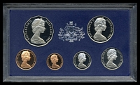 Lot 142 [1 of 2]:Australia: 1983 cased proof set.