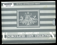 Lot 24 [3 of 3]:Australia: 1987 set in folder.