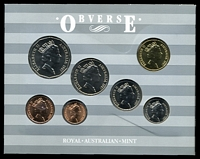 Lot 24 [1 of 3]:Australia: 1987 set in folder.