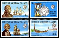 Lot 4151:1973 Ships and Navigators SG #236-9 set. (4)