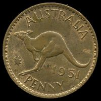 Lot 21 [2 of 2]:Australia: 1951 PL 1d.