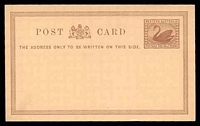 Lot 17711:1879 PSSA #PC1 ½d chestnut on salmon, Cat $15, minor adhesion on back.