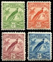 Lot 23453:1931 Dated Birds SG #150-3 1d to 3d Birds. (4)