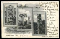 Lot 443 [1 of 2]:Canada: black & white PPC 'Indian Totem Poles', early card with undivided back used in 1905.