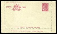 Lot 471:1957-59 4d Claret QEII BW #LC81B admonition inside in claret.