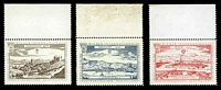 Lot 42 [1 of 3]:Austria: 1965 Wipa Stamp Exhibition set of nine labels.