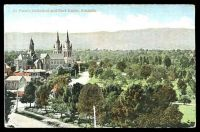 Lot 399:Australia - South Australia: multi-coloured PPC 'St Peter's Cathederal and Park Lands, Adelaide'.