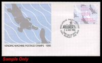 Lot 920:APO 1986 36c Platypus Frama tied to illustrated FDC by appropriate FDCs, set of nine unaddressed covers. (9)