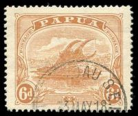 Lot 4510:1911-15 Monocolour Wmk Crown/A Perf 12½ SG #89 6d orange-brown.