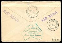 Lot 4800 [2 of 2]:1952 Australia - South Africa AAMC #1307 illustrated Qantas Boomerang cover.