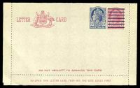 Lot 472 [1 of 2]:1959 5d On 4d Claret QEII BW #LC83 unused.