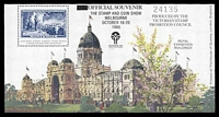 Lot 12:Australia: 1985 Stamp & Coin Show M/S for October Victorian Sesquicentenary Show.