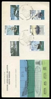 Lot 3353 [2 of 2]:1976 Ships set on two Official illustrated FDCs, unaddressed.