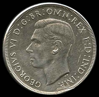 Lot 14 [2 of 2]:Australia: 1937 Crown, edge ding otherwise unc.