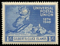 Lot 3537 [1 of 4]:1949 UPU SG #59-62 set. (4)