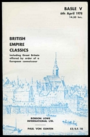 Lot 34:British Empire: Robson Lowe International Basle V 1978 sale of classics with prices realised.