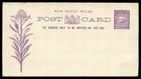 Lot 688:1890-92 1d Violet on Cream Stock HG #9.