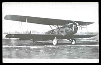 Lot 277 [1 of 2]:Aircraft: Black & white PPC Bi-Plane 'Huff-Daland XLB-1', real photo.