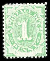 Lot 3500:1902 Converted NSW Plates BW #D3 1d emerald, P11½-12x11½.