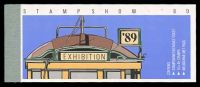 Lot 2938:1989 Trams Stampshow 89 BW #B169 $8, Cat $14, ticket attached.