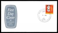 Lot 915:APO 1965 5d Monash on grey Shield FDC by Philatelic Sales Section Russell Street cds 23JE65, unaddressed.