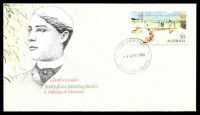 Lot 455:APO 1984 $5 Painting on illustrated FDC tied by Wentworth cds 4 APR 1984, unaddressed.