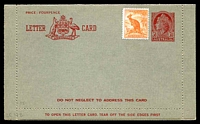 Lot 856:1954-57 3½d Red QEII Modified Admonition BW #LC79 Die II, uprated with ½d roo.