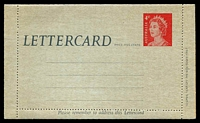 Lot 3684:1966-80 QEII Decimal ASC #L61 1966 4c QEII cream within, unused.