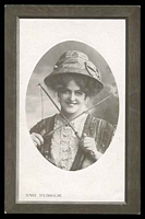Lot 53:Actors & Actresses: Black & white PPC 'Marie Studholme'.