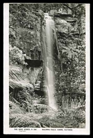 Lot 2813:Lorne: - real-photo PPC 'Kalimna Falls, Lorne, Victoria', unused.  PO 29/4/1874; LPO 1/12/1994.