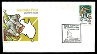 Lot 4682:1979 Radio Australia 40th Anniversary APO Souvenir cover with adhesive tied by Radio Australia commemorative cancel Melbourne 20th December, unaddressed.