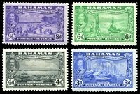 Lot 3528 [2 of 4]:1948 Tercentenary SG #178-90 set to 3/-, a few values including 2/- & 3/- mint no gum. (13)