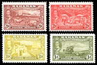 Lot 3528 [3 of 4]:1948 Tercentenary SG #178-90 set to 3/-, a few values including 2/- & 3/- mint no gum. (13)