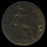 Lot 27 [1 of 2]:Great Britain: 1902 ½d.