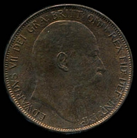 Lot 30 [2 of 2]:Great Britain: 1902 KEVII 1d Unc.