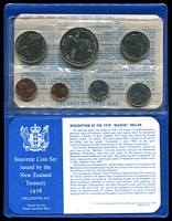 Lot 193 [2 of 2]:New Zealand: 1978 set in wallet.