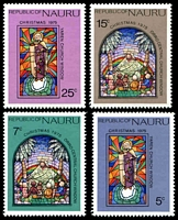 Lot 25129:1975 Christmas SG #139-42 set. (4)
