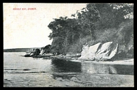 Lot 41:Australia - New South Wales: Black & white PPC 'Double Bay Sydney'.