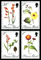 Lot 4335:1970 Flowers SG #107-10 set. (4)