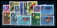 Lot 4679:1963 Tristan Resettlement SG #55-67 set (13)