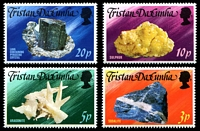 Lot 4499:1978 Local Minerals SG #242-5 set. (4)