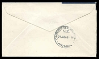 Lot 870 [2 of 2]:1960 Melbourne - Christchurch AAMC #1429 illustrated Teal cover.